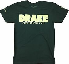 Drake Club Paradise T-Shirt Men's Black Rap Artist Music New Rare Small Tee New