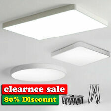 Ultra-thin Square/Round LED Ceiling Light Bedroom Living Dimmable Lamp 220V-240V