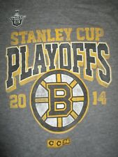 CCM BOSTON BRUINS 2014 STANLEY CUP Playoffs (SM) T-Shirt