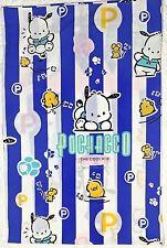 Vintage 1997 Sanrio Pochacco White Pink Blue Pillow Case Sham 20x30 inches RARE