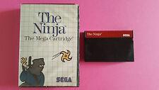 THE NINJA / jeu MASTER SYSTEM SEGA / PAL