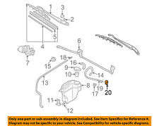 TOYOTA OEM 98-02 Corolla Wiper Washer-Windshield-Nozzle Spray Jet 8538102020