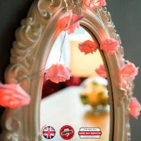 20 30 Warm White LED Pink Rose Flower Indoor Bedroom Valentine Gift Fairy Lights
