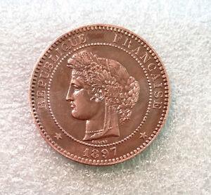 Splendide 10 centimes Cérès 1897 A - qualité rare