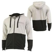 Hugo Boss Men's Authentic Zip Up Hoooded Cotton Sweatshirt Jacket