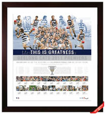 GEELONG CATS 2011 AFL PREMIERSHIP TEAM SIGNED LITHOGRAPH