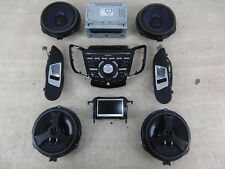 2014 Ford Fiesta MK7 1.6 Sony Stereo / Screen / Speaker Set