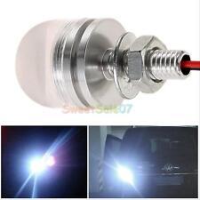 2PCS 12V  White LED License Plate Screw Bolt Light Lamp FOR Car Motorcycle
