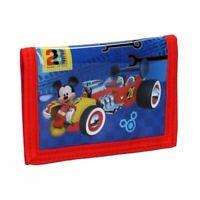Children's Mickey Mouse Crazy Speed Bi-Fold Wallet - Disney