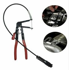 Auto Vehicle Tools Cable Type Flexible Wire Long Reach Hose Clamp Pliers for Car