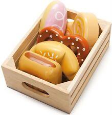 Le Toy Van BAKERS BASKET Wooden Food Shopping Playset Kids/Children Toy BN