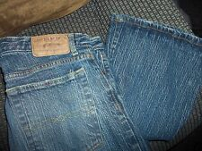 Ben And Jerrys womans size 14 R blue jeans boot cut 30 length