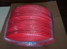 8mm*300m ATV utv synthetic winch rope,uhmwpe rope,winch cable,winch line offroad