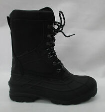 56551126355Kamik Mens NationPro Winter/Snow Boots WK0586 Black Size 12