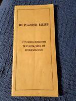 1949 Pennsylvania Railroad Operating & Signal Rules *264