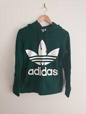 Adidas Originals Adicolor Women's Trefoil Hoodie Green Size AU 6 NWOT