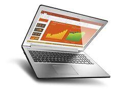 "New Lenovo 510 15.6"" FHD Gaming Laptop, Intel i5-6200U,8G,1TB,GeForce 940MX 4GB"
