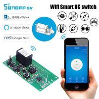 SONOFF DC 5V-24V WIFI Wireless Switch Socket SV Module APP Remote Control NewHQ