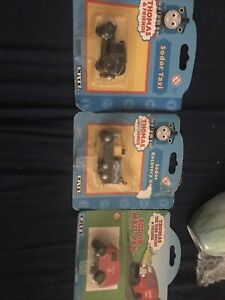 Thomas Tank Engine & Friends Ertl Sodar Taxi,Recovery Unit&Mail VanNew Old Stock