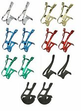 PAIR BICYCLE PEDAL TOE CLIPS STEEL OR NYLON  MTB ROAD TRACK CYCLING BIKES
