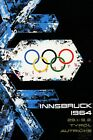 Olympic Games 1964 Innsbruck Austria Vintage Poster Print Retro Style Repro Art