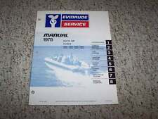 1978 Evinrude 9.9 15 HP Outboard Motor Shop Service Repair Manual Guide Book
