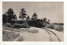 EDAVILLE RAILROAD PC Postcard CRANBERRY BELT LINE Trains TRAIN RR Massachusetts