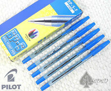 12pcs Pilot BP-S-F 0.7mm fine ball point pen BLUE ink