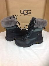 Ugg Australia Womens Adirondack Black Color Boot Size 8.5 US