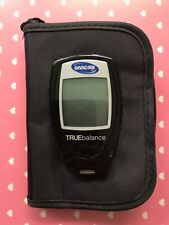 INVACARE TRUE BALANCE DIABETES GLUCOSE METER (NEED BATTERIES) CARRY CASE