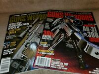 Guns and Weapons Magazines for Law Enforcement Ammo Military 2014 2016  TWO