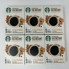 Starbucks VIA Ready Brew COLOMBIA Medium Roast Coffee 78 ct Best By 10/24/19
