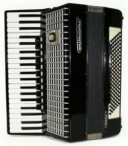 Weltmeister Stella, 120 Bass, made in Germany Accordion, New Straps, Case 1650