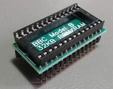 Acorn BBC (modelo A/B) sin soldadura 32 KB Sideways RAM + Kit de actualización de ROM. Plug & Play