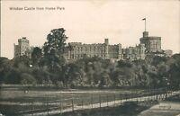 Postcard Berkshire Windsor castle From home park unposted
