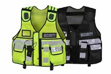 Hi Viz Orange Tactical Vest Security Enforcement Cctv, Dog Handler, Press, Event