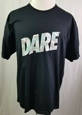DARE Men T-Shirt Blue Gray Digital Camo VTG 1990s Anti-Drug D.A.R.E Tee Size 2XL