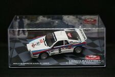 1:43 Eaglemoss Lancia 037 1984 Rallye Monte Carlo Bettega night (wrc, rally) #2