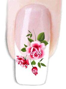 Blumen -91 Wraps Nail Art Tattoo Sticker Decal Fingernägel Fuß-Nägel Aufkleber