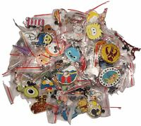 Disney World Trading Pins Pin Lot of 25 No Doubles Fast Free Ship Cast Lanyard