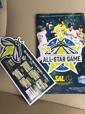 South Atlantic League All Star Program 2017 +  Columbia Fireflies magnet