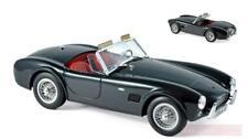 Norev 182754. Coche de colección. Ac Cobra 289 1963 Negro. Escala 1/18