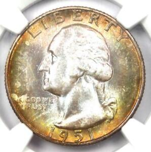 1951-S Washington Quarter 25C Coin - Certified NGC MS68 CAC - $3,250 Value!