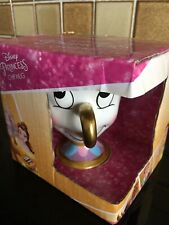 Disney Chip Cup Mug Beauty & The Beast Ceramic Mugs Boxed - New