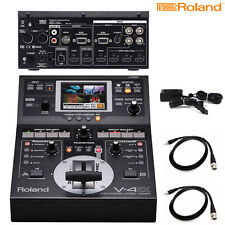 Roland V-4EX 4-Channel Digital Video Mixer with Effects NEW l Authorized Dealer