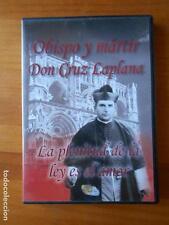 DVD OBISPO Y MARTIR DON CRUZ LAPLANA - LA PLENITUD DE LA LEY ES EL AMOR (B6)