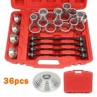 36pc Press and Pull Sleeve Kit Master Seal Bushes Bearings Remover Installer Set