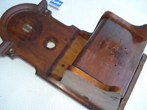 Antikes Holz -Telefon-Gehäuse