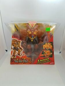 """Mattel Yu Gi Oh! Lot EXODIA THE FORBIDDEN ONE ACTION FIGURE 8"""" Inch 2002 SEALED"""