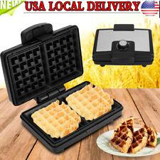 Diy Cake Waffle Maker Machine Non Stick Electric Kitchen Cooker Breakfast Baker
